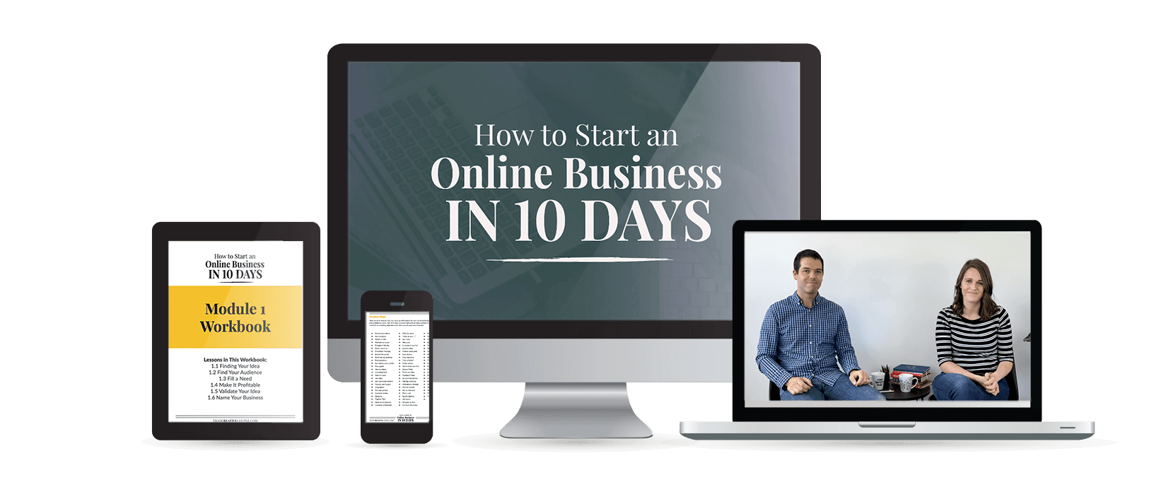 How to Start an Online Business in 10 Days
